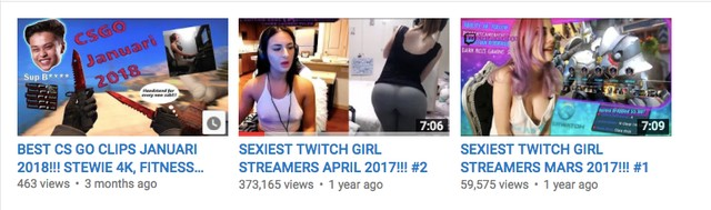 Streamer sexy twitch These Hot