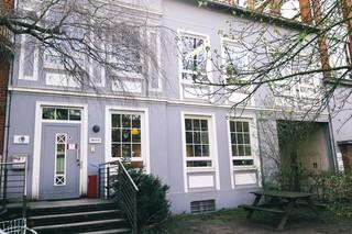 Die Rocket Beans besetzen mittlerweile mehrere Gebäude in der Heinrichstraße in Hamburg-Altona