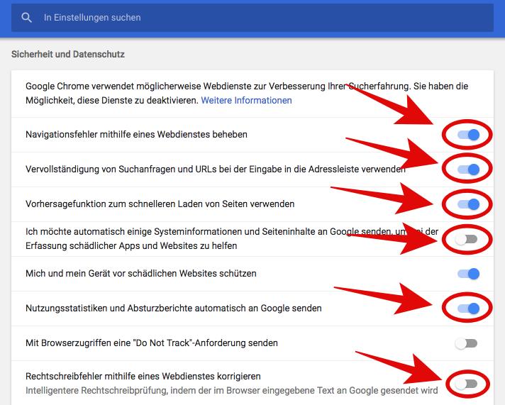 Acht Einstellungen Beim Chrome Browser Die Ihr Jetzt ändern Solltet
