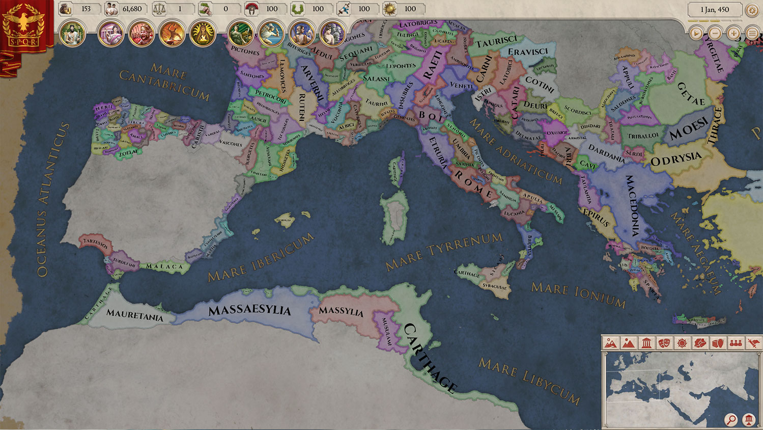 Finding the Paradox Game Within Roman History for 'Imperator: Rome