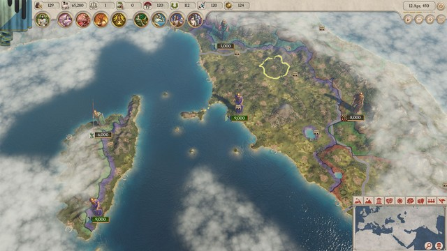 Finding the Paradox Game Within Roman History for 'Imperator