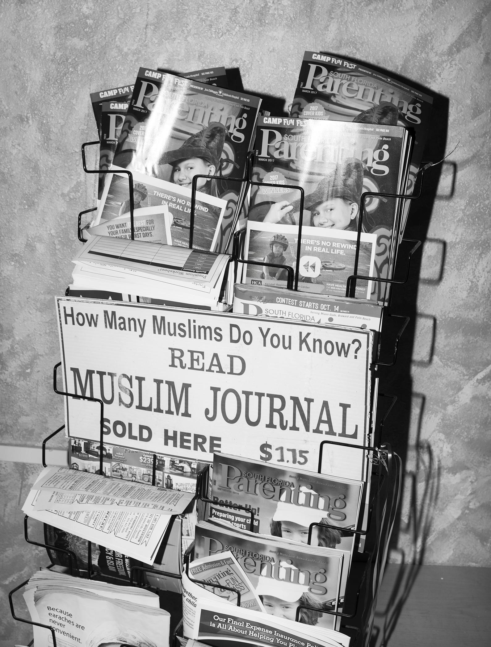 Rak majalah
