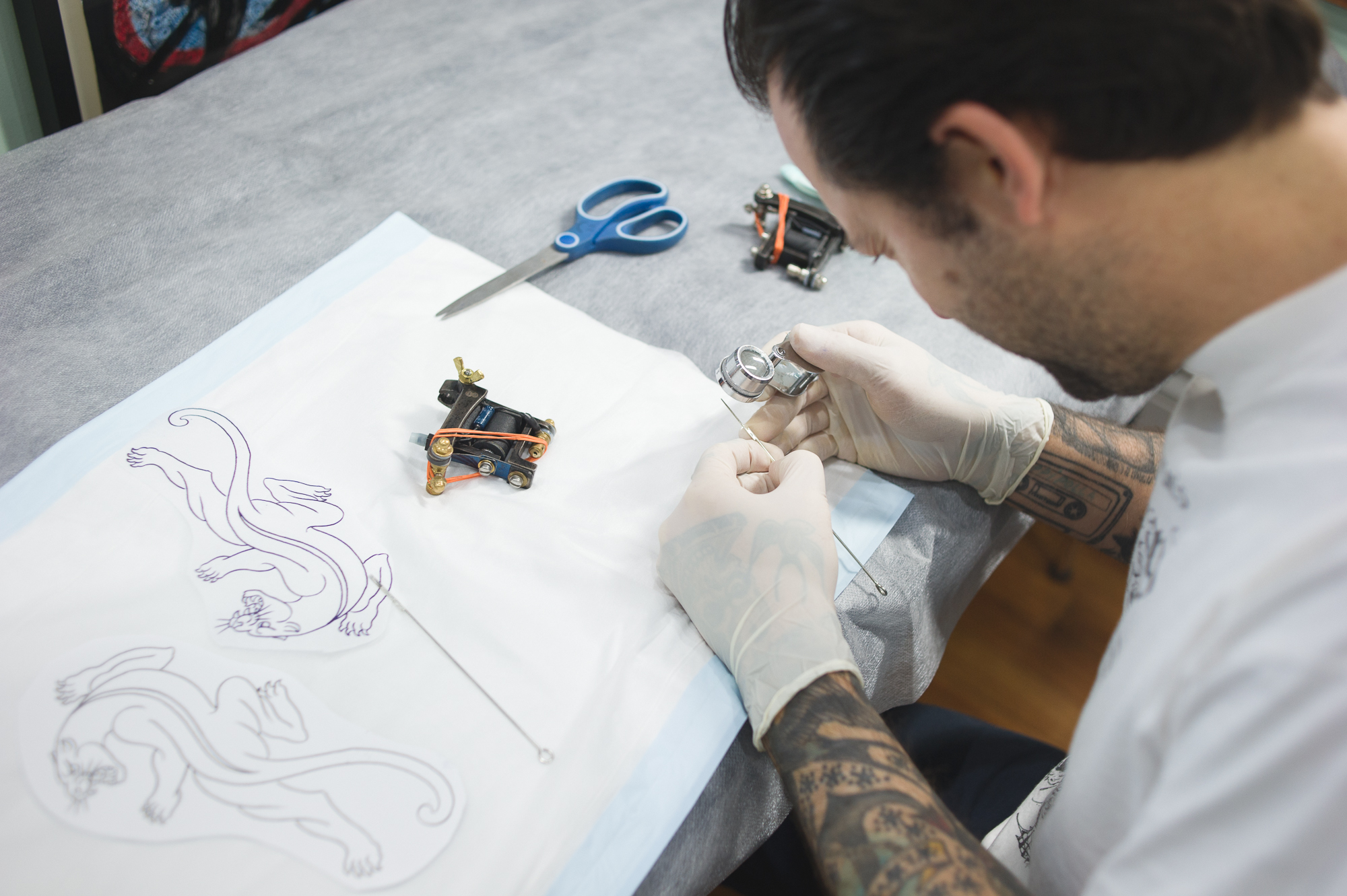 How a Tattoo Goes from Sketch to Skin with William Brown - VICE