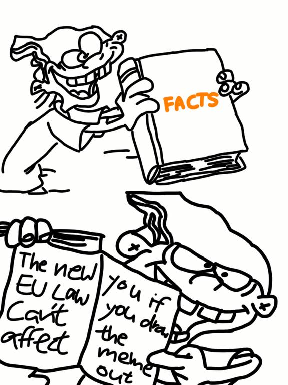 some genius memers are creatively fighting the eu s possible meme Spongebob Meme singed4life