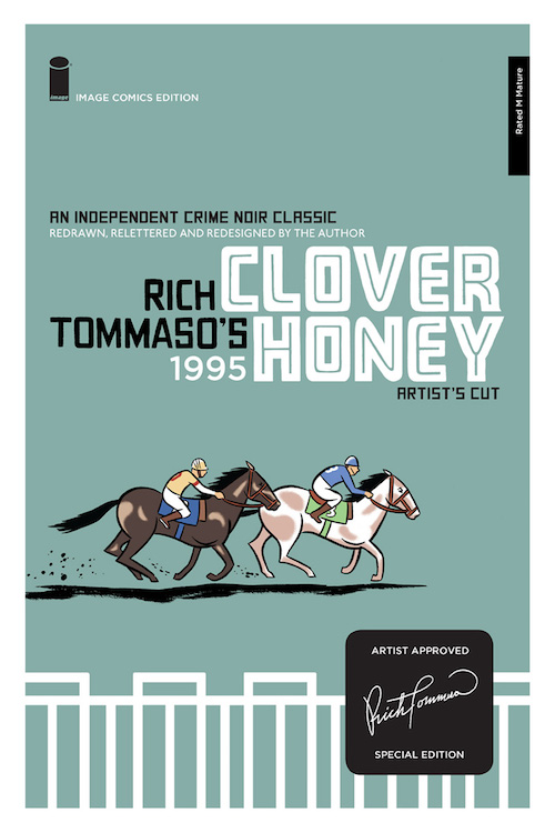 rich tommaso clover honey