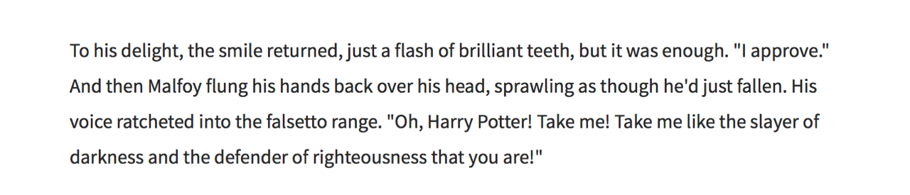 My Quest to Become a Harry Potter Erotic Fanfic Writer - VICE
