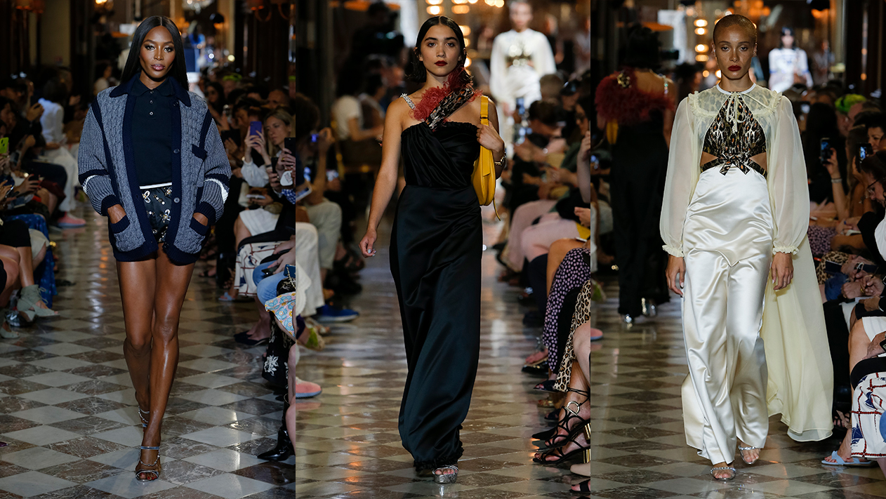 "ed8e66c6a72c It was a multi-generational celebration of the women that wear the clothes  and bring the brand to life. Hovering over the entire show was ""the spirit  of ..."