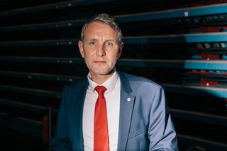 Der AfD-Politiker Björn Höcke auf dem 9. AfD-Bundesparteitag