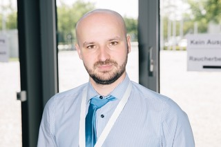 Der AfD-Politiker Reimond Hoffmann auf dem 9. AfD-Bundesparteitag