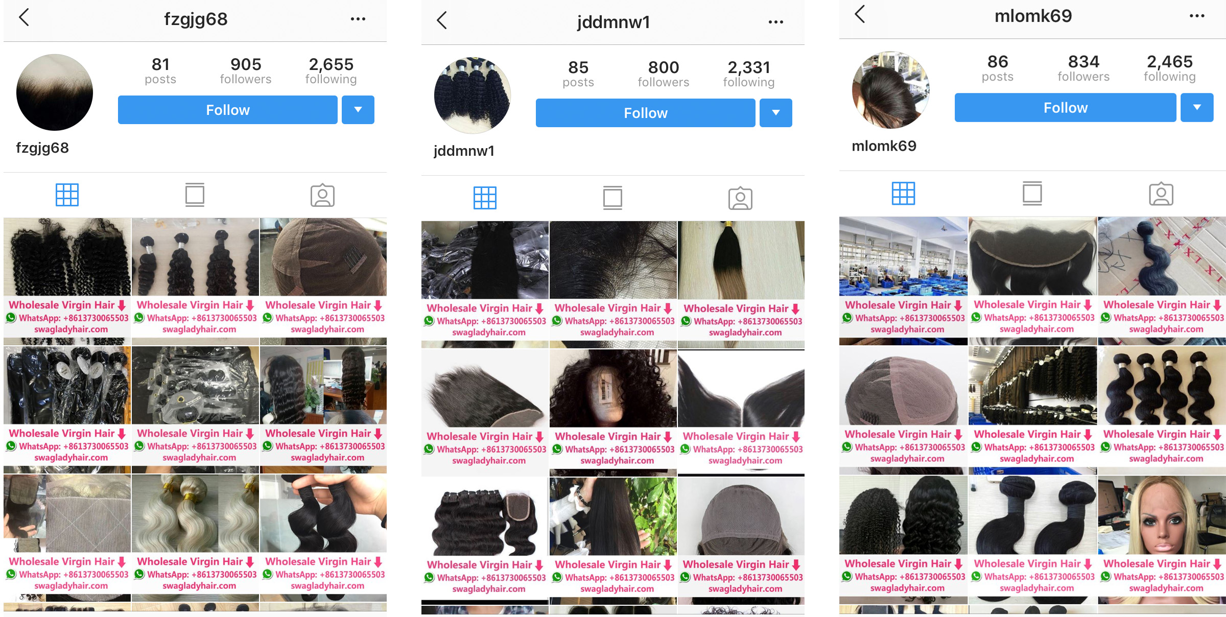 Are Russian Bots Selling Weaves on Instagram? An Investigation - VICE