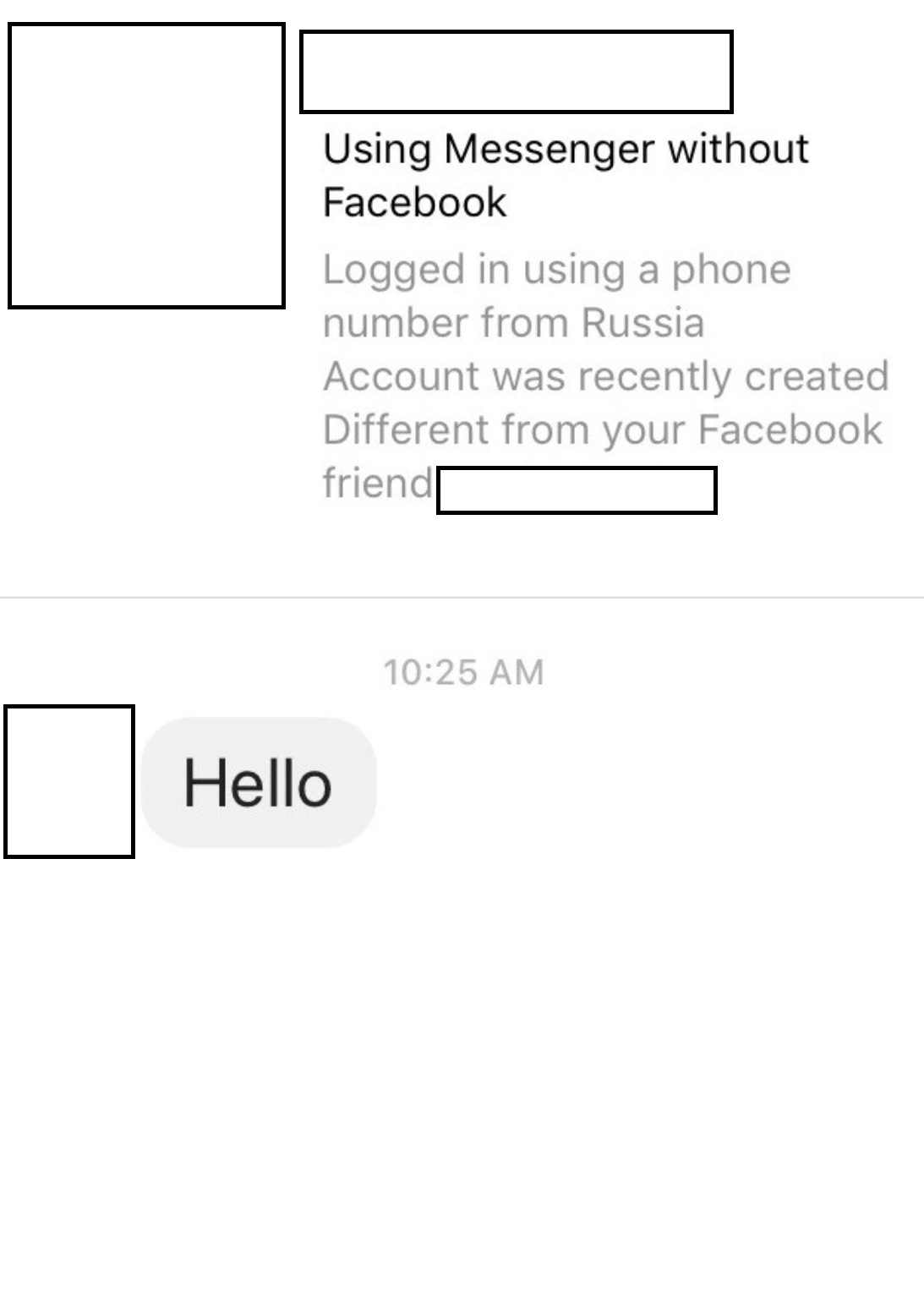 Facebook Is Testing a Feature to Tell You If That DM Came from