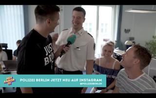 YouTuber Troschke bei der Berliner Polizei