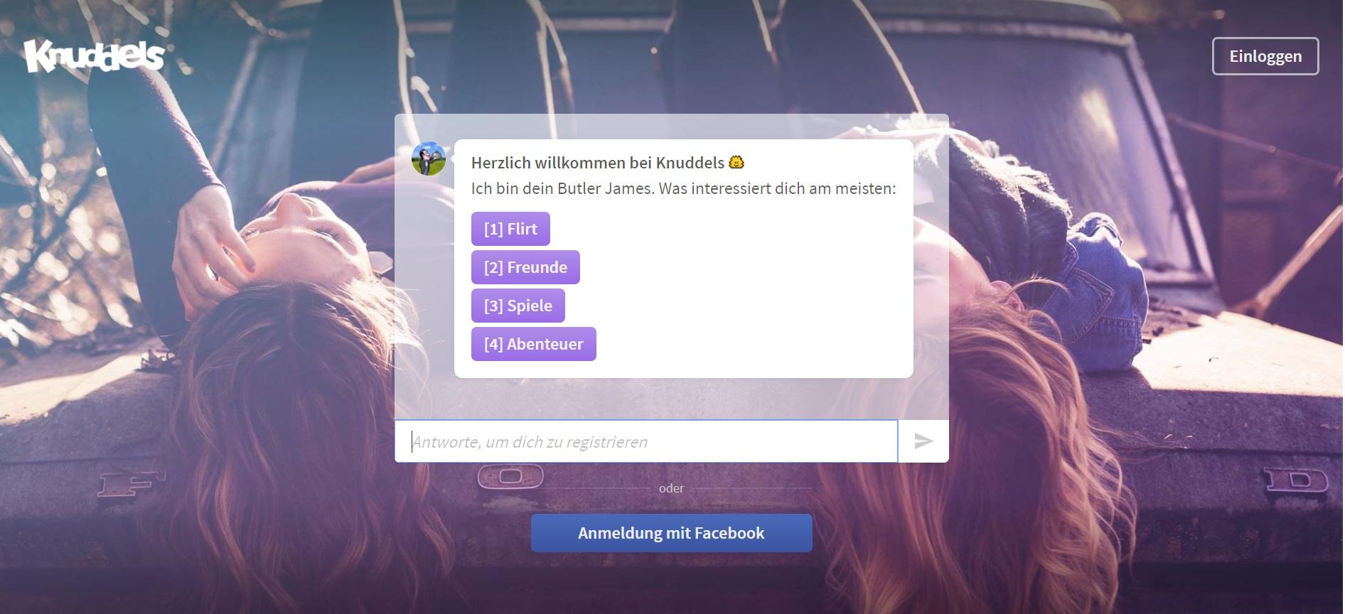 Knuddels online bot