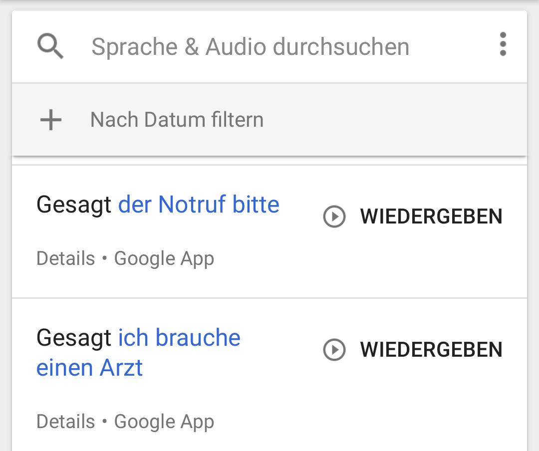 google handy orten verlauf