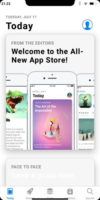 Der App Store der iPhone-Kopie.