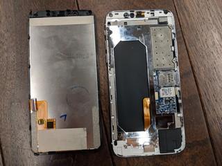 Das Innenleben des iPhone-Imitats.