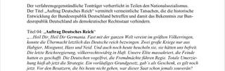 Die Bundesprüfstelle für jugendgefährdenden Medien entscheidet, welche Songs und Alben in Deutschland auf dem Index landen und nicht verbreitet werden dürfen. In diesem Urteilsspruch entscheidet sie über ein Album der rechtsextremen Band