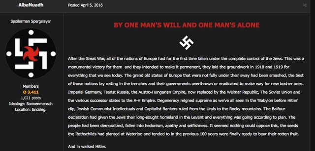 Member of a Neo-Nazi Terror Group Appears To Be Former