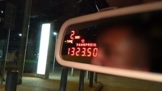 1323,50 Euro kostete die Fahrt von Stuttgart nach Hamburg, danach fuhr der Student mit dem Zug nach Lübeck