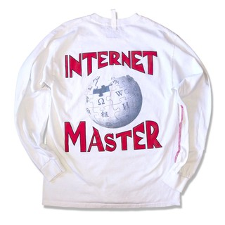 Wikipedia and Advisory Board Crystals streetwear white long sleeve internet master