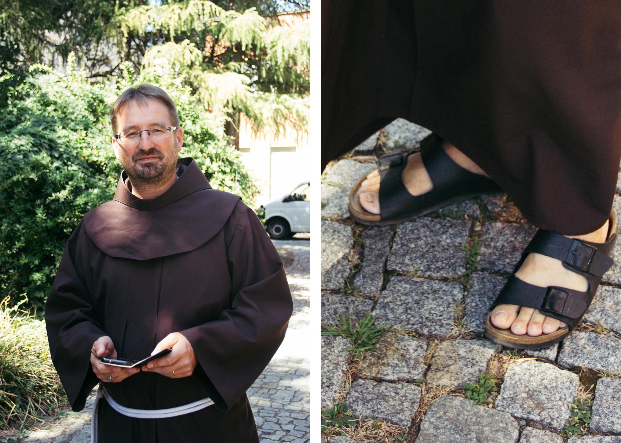 10 Fragen an einen Mönch, die du dich niemals trauen