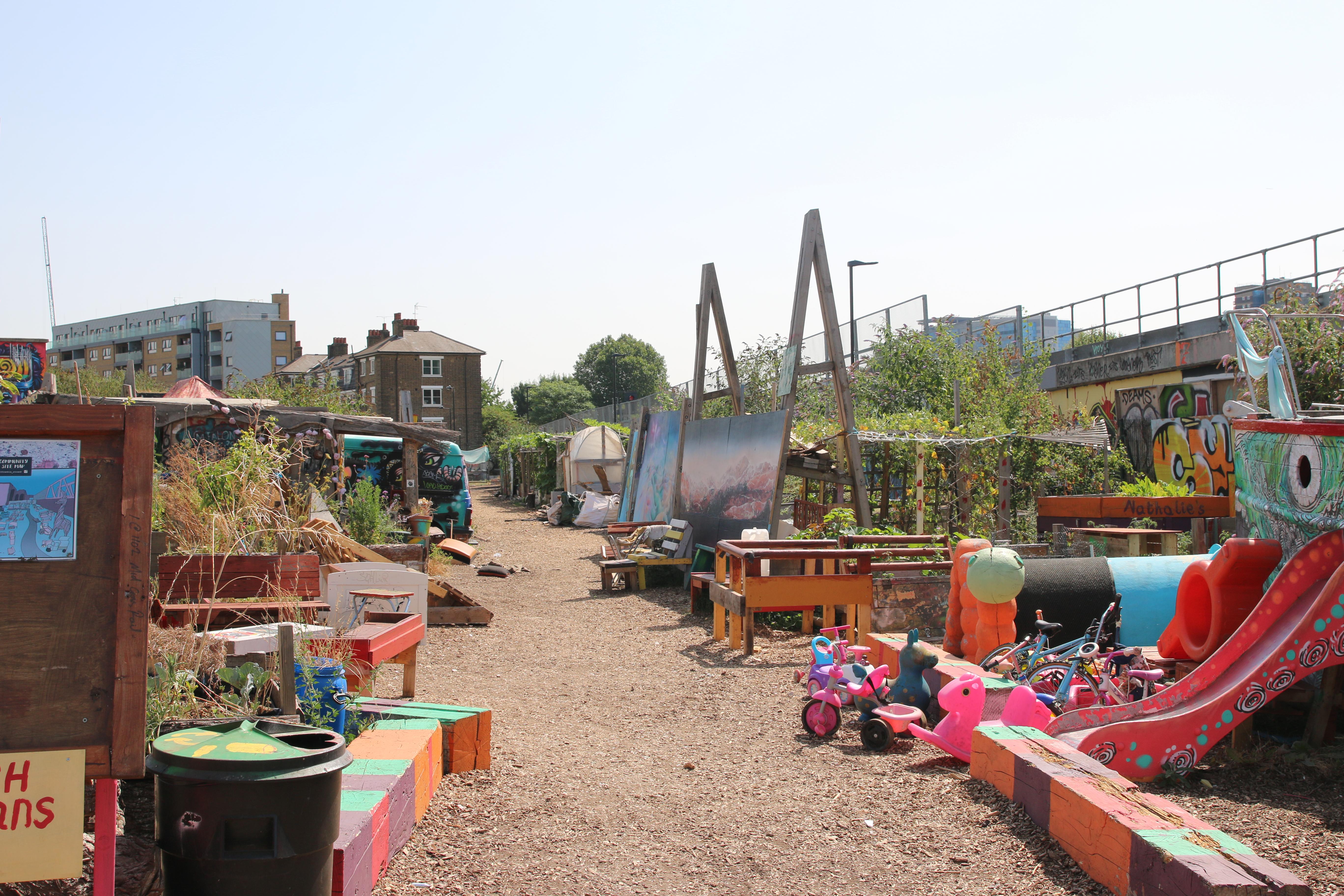Secret Garden: How A Derelict Space In London Became A Community Garden