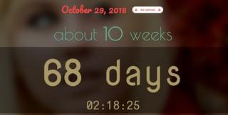 Screenshot zeigt einen Countdown zum nächsten Steam Sale an: Noch 10 Wochen oder 68 Tage