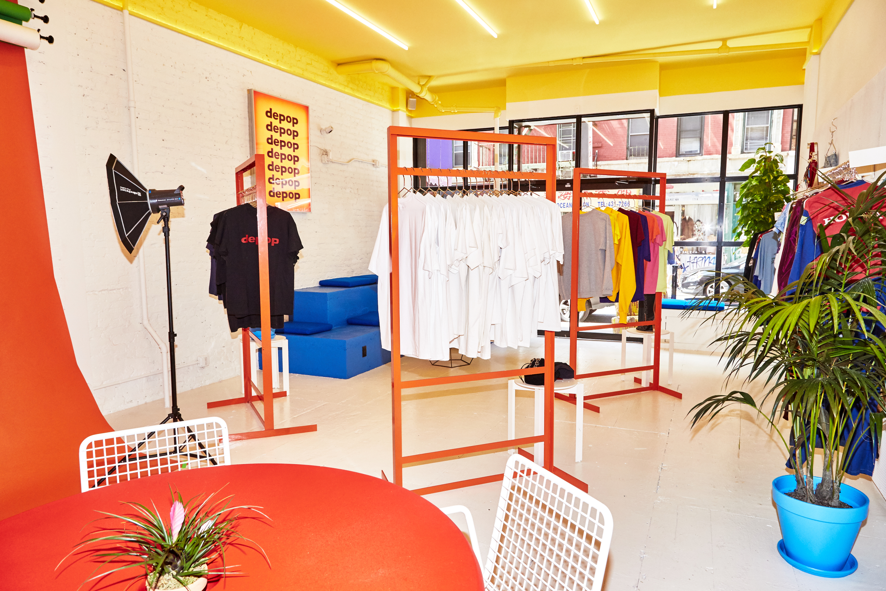 2434dbb1237 The clothing at Depop New York is curated by the city's most massive vintage  fiends, including Venus X, Brian Procell, and Luke Fracher.