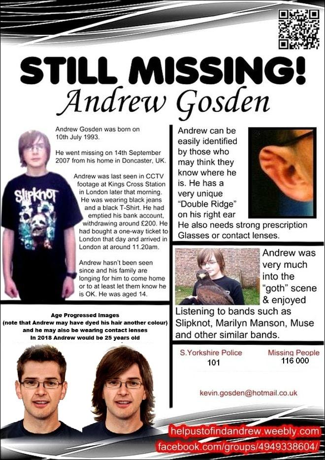 The Strange Disappearance of Andrew Gosden - VICE