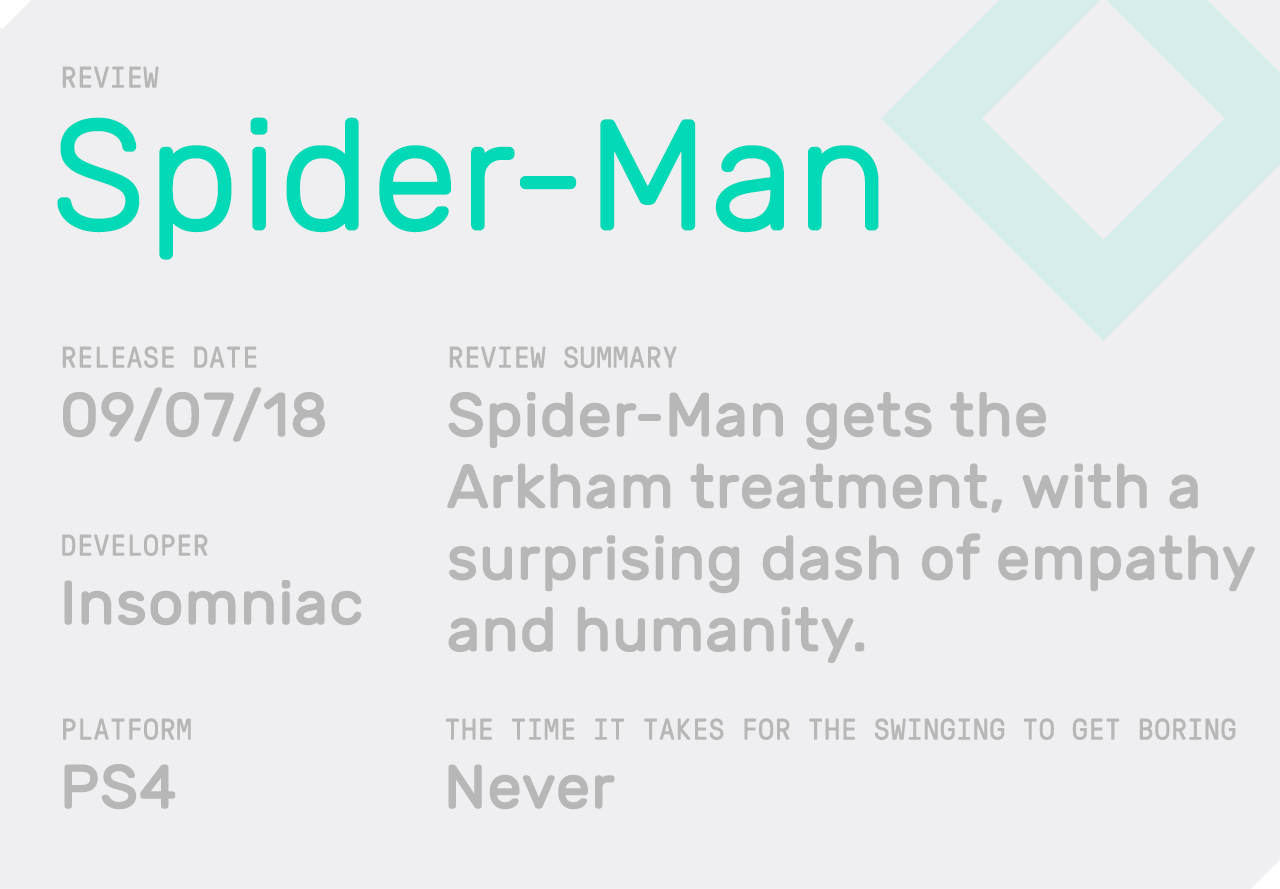 Spider-Man' Isn't Just Good, It's a Game About Trying to Be Good - VICE