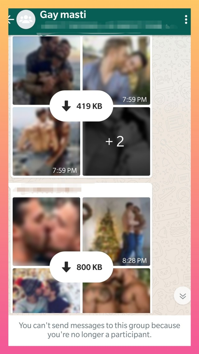 Queer Men Are Finding Love on WhatsApp Groups Instead of Dating Apps