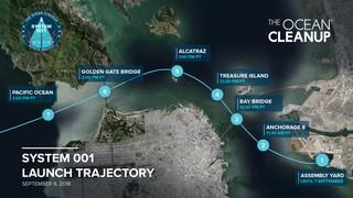 Diese Route nimmt die erste Barriere des Projekts am Samstag, dem 8. September 2018