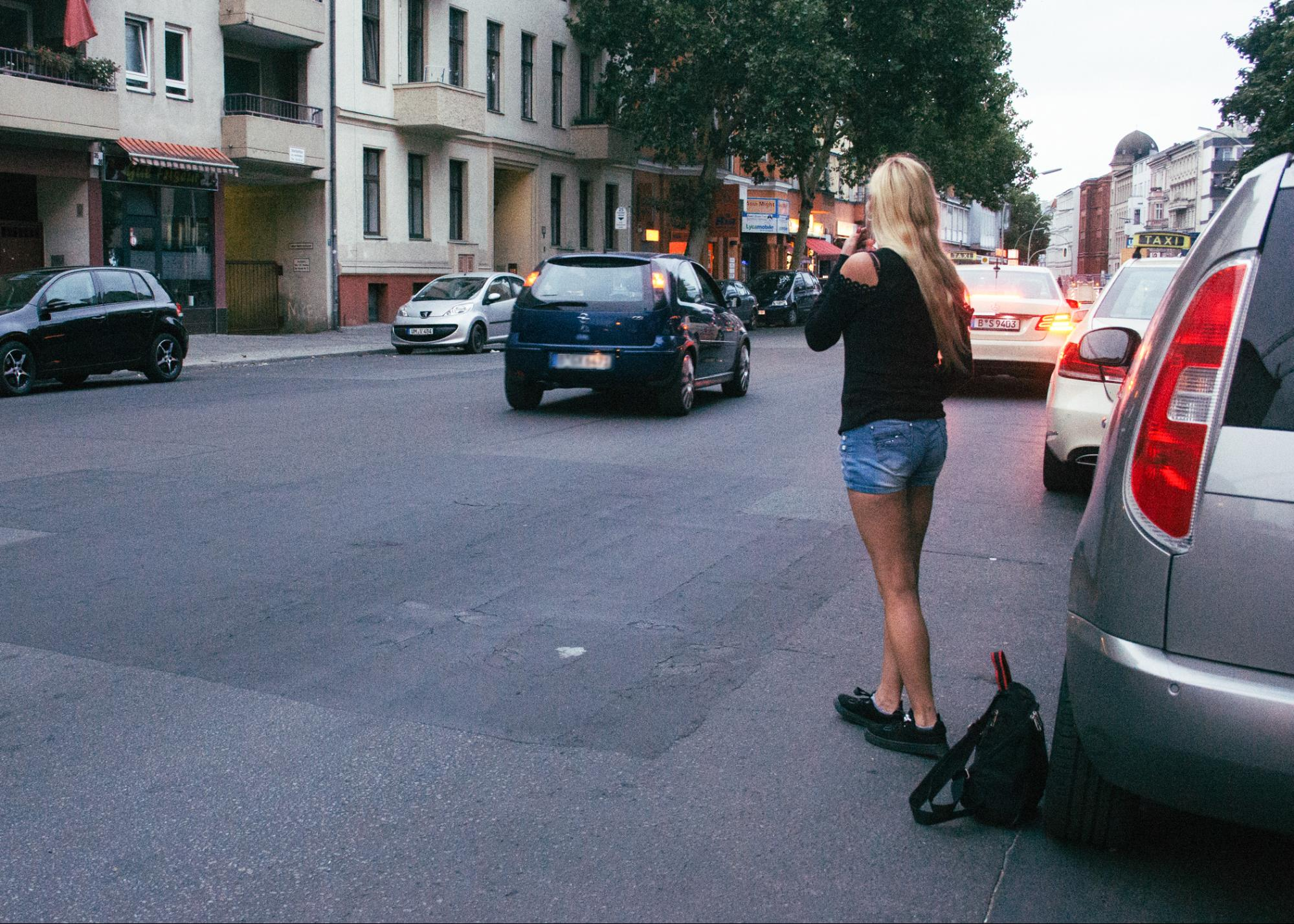 Beautiful prostitute in berlin