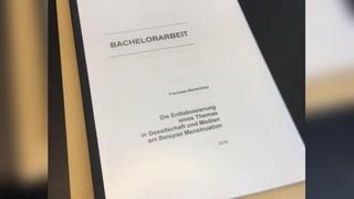 Bachelorarbeit Tabuthema Menstruation Franziska Wartenberg