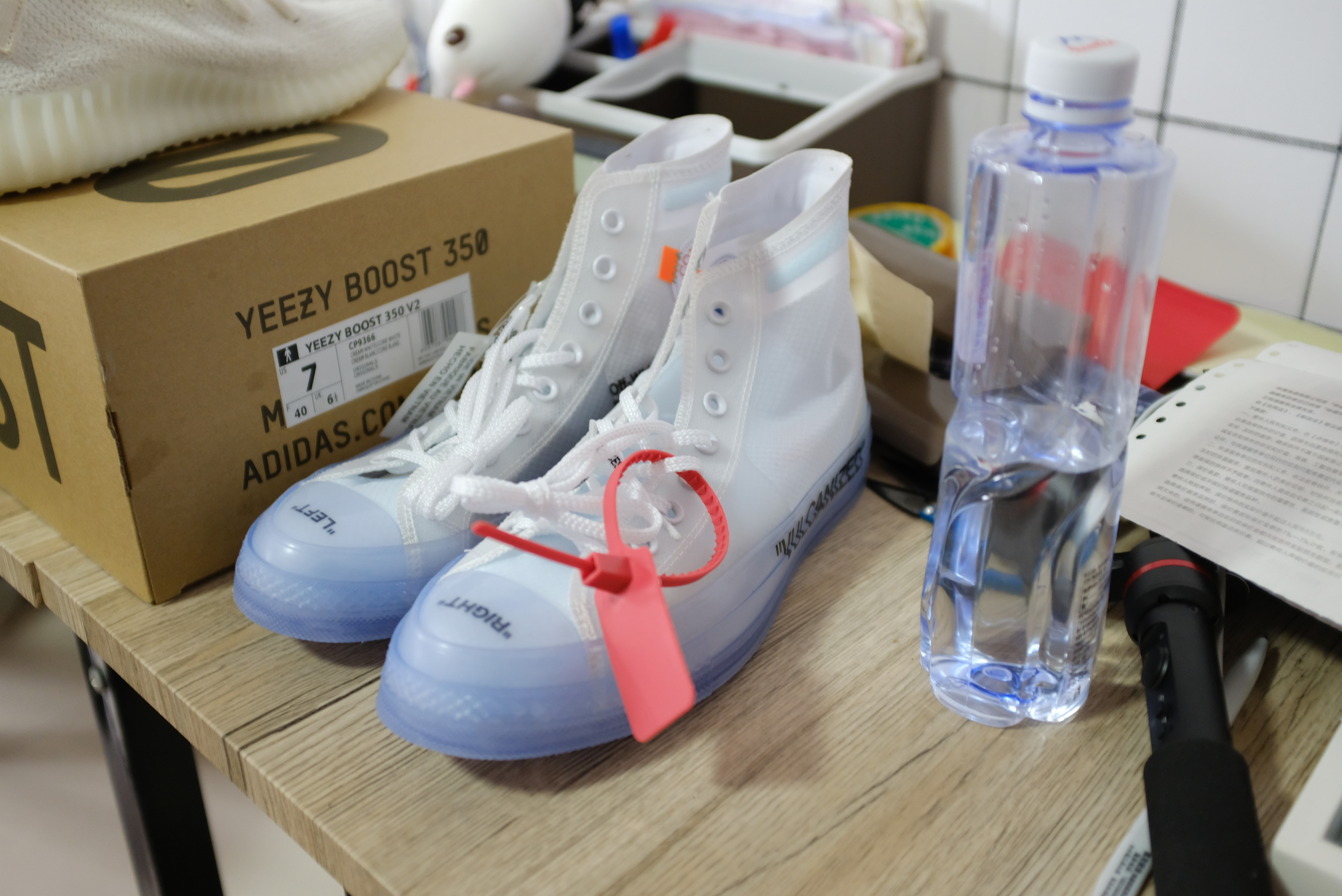This fake sneaker king's operation made