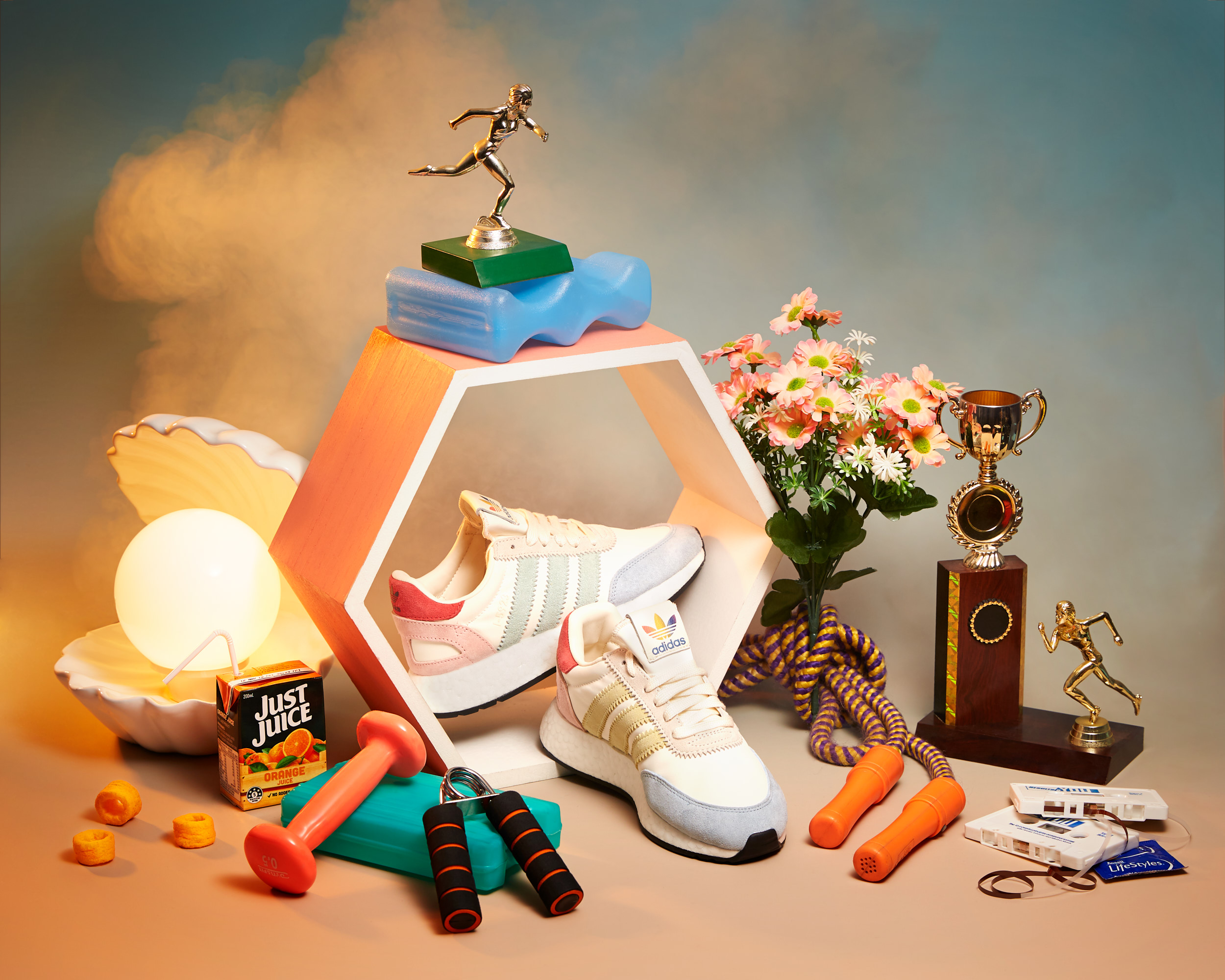these nostalgic still lifes capture the crushed sporting dreams of