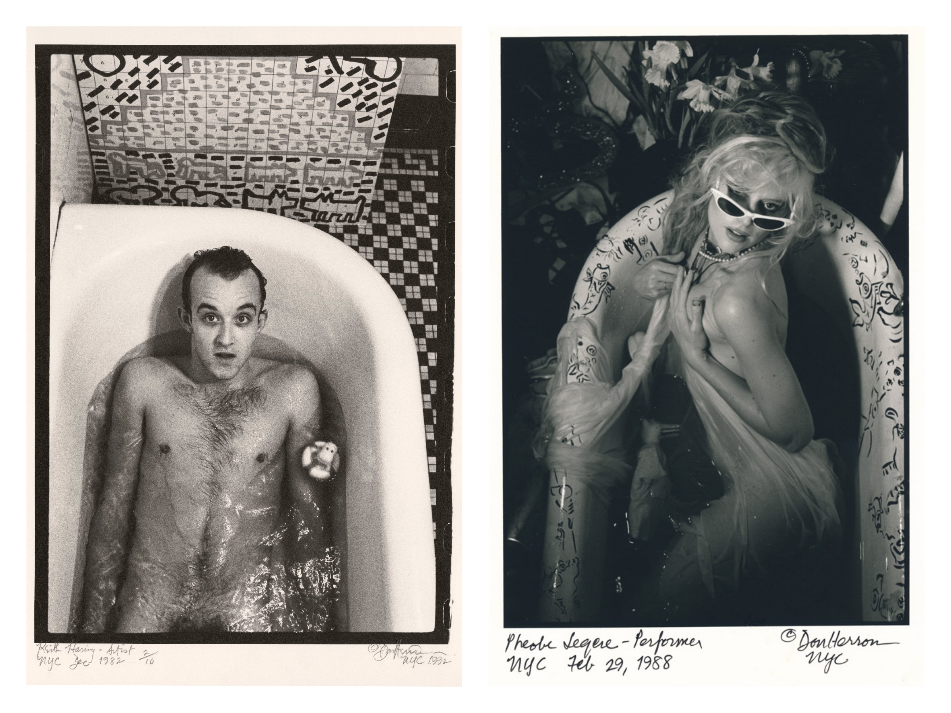 This Photographer Shot Portraits Of His Famous Friends In The Tub Vice