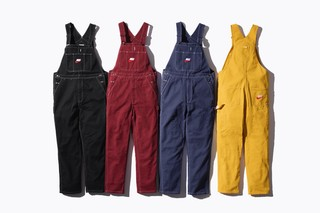 Supreme x Nike collaboration preview pictures - dungarees