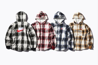 Supreme x Nike collaboration preview pictures - hoodies