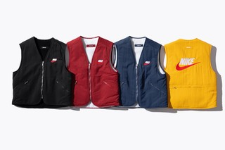 Supreme x Nike collaboration preview pictures - gilets
