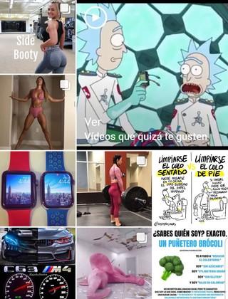 explorar de instagram lo que dice de ti