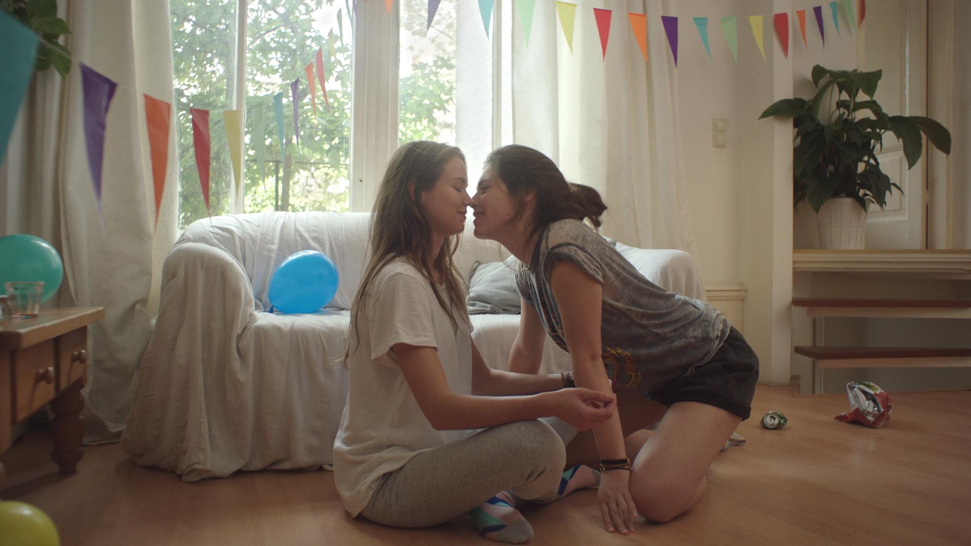 HD tiener lesbiennes