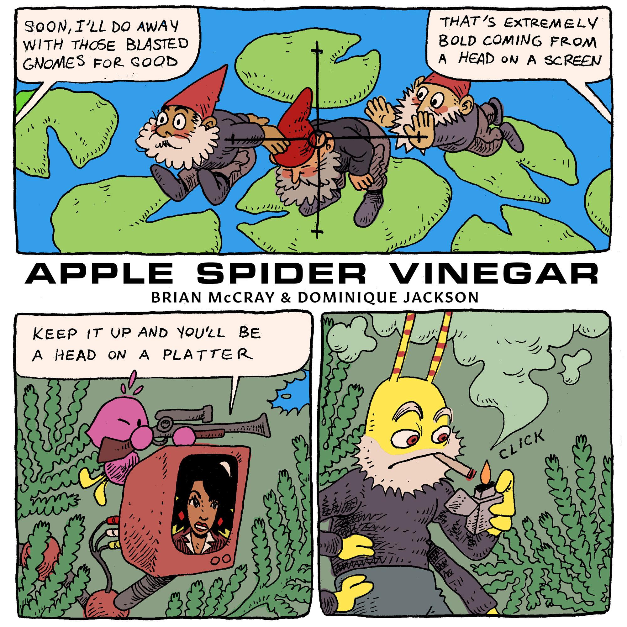 Animal Comic Sex gnome wars,' today's comicbrian mccray and dominique