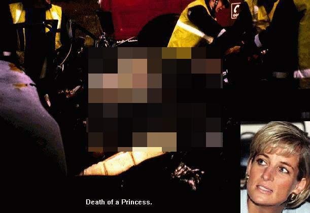 Fake-Foto von Prinzessin Diana auf rotten.com