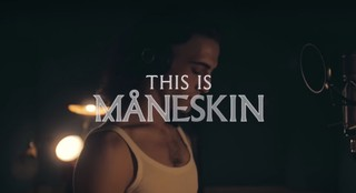 this is maneskin film making of