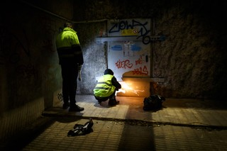 enrique escandell escritores graffiti metro subterraneos
