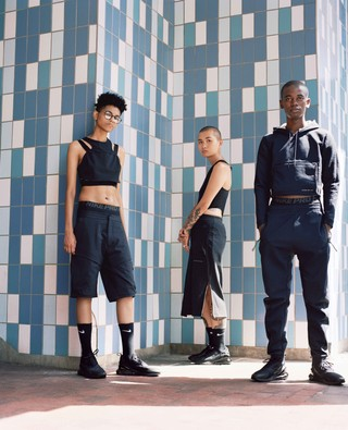 Campbell Addy shot the diverse community of Nii Agency for Nike Cult Tech Pack