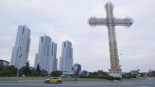 Αρχιτεκτονικός σουρεαλισμός στα Σκόπια.