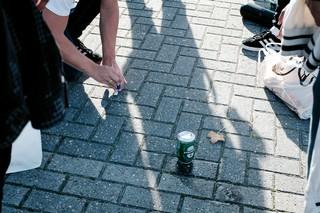 Een biertje bij Almere City