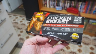 pechuga de pollo en lata fit